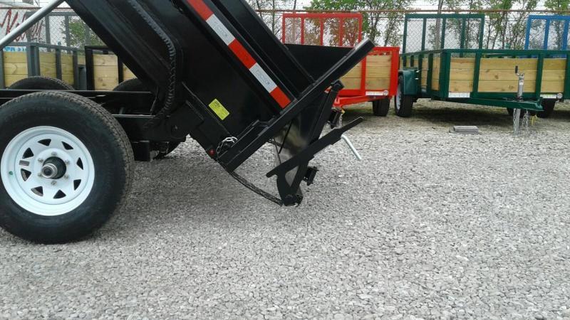 "2018 Sure-Trac 72""x10 10K Single Ram Dump Trailer"