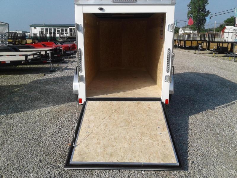 2019 Bravo Trailers 5x10 Scout w/ Ramp Door Enclosed Cargo Trailer