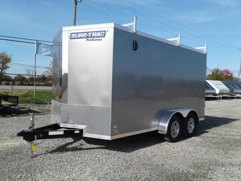 2019 Sure-Trac 7x14 7K Pro Series Wedge Cargo