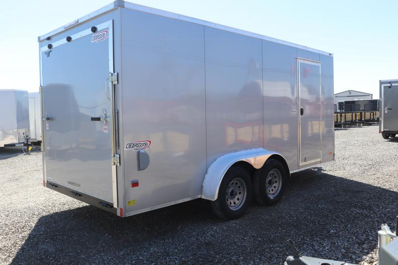 2020 Bravo Trailers 7x16 Scout Enclosed Cargo Trailer