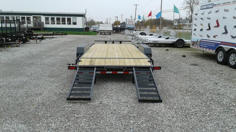 2018 Sure-Trac 7x20 14K Implement Equipment Trailer