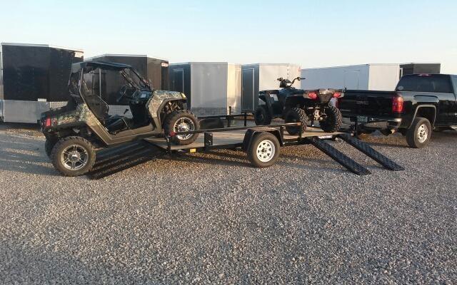 2019 Sure-Trac 7x14 ATV Tube Top Utility Trailer