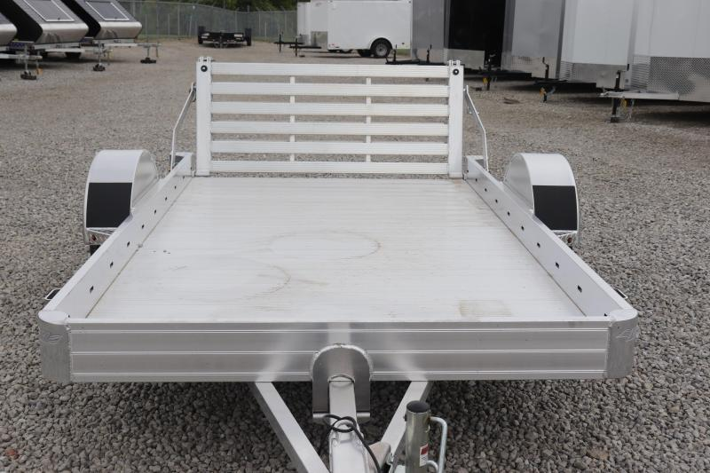 """2020 Hillsboro Industries 70""""x10 Aluminum Utility Trailer"""