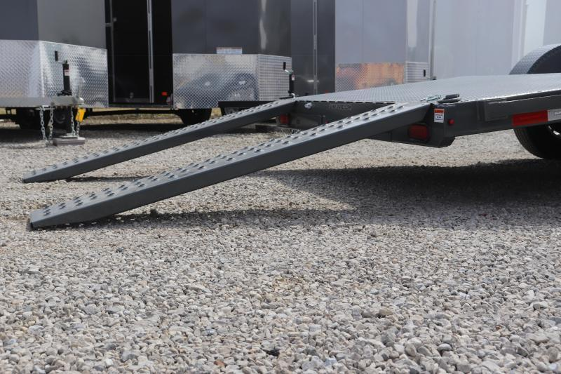 2019 Sure-Trac 7x20 10K Steel Deck Car Hauler Trailer