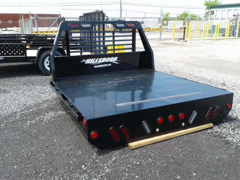 2018 Hillsboro Industries SLT Steel SWSB Truck Bed
