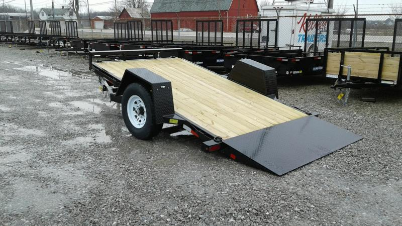 "2018 Sure-Trac 78""x12 7k Tilt Equipment Trailer"