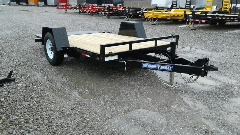 "2018 Sure-Trac 78""x12 7k Tilt Equipment Trailer"