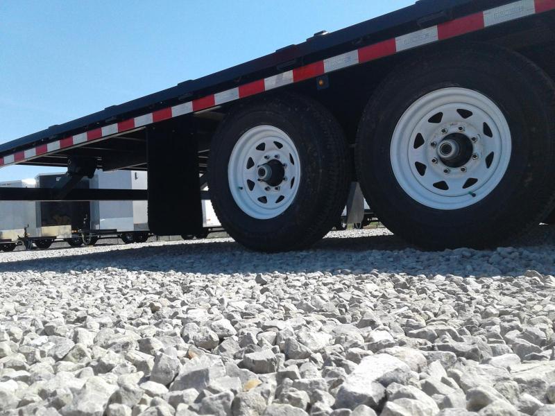 2018 Sure-Trac 8.5x22 15K Powertilt Deckover Equipment Trailer
