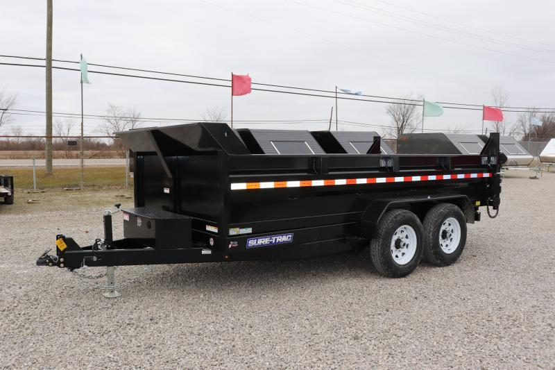 2019 Sure-Trac 82IN x14 14K Scissor Dump Trailer