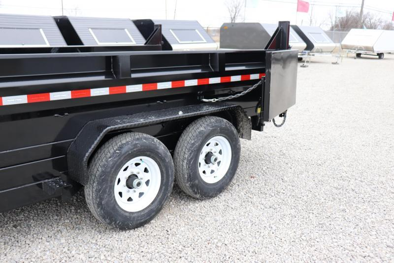 2019 Sure-Trac 82IN x14 14K Scissor Dump Dump Trailer