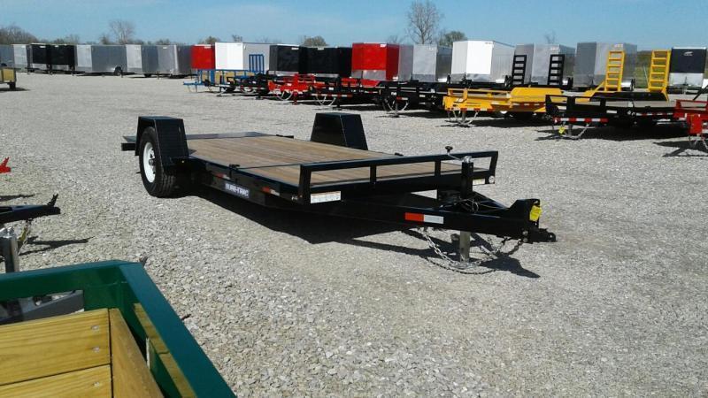"2019 Sure-Trac 78""x12+4 7.8K Tilt Bed Equipment Trailer"