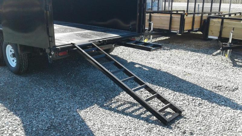 "2019 Sure-Trac 82""x14 14K w/ 4' Sides Scissor Dump Trailer"
