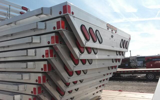 2018 ALUMA Short Bed Single Wheel Aluminum Truck Bed