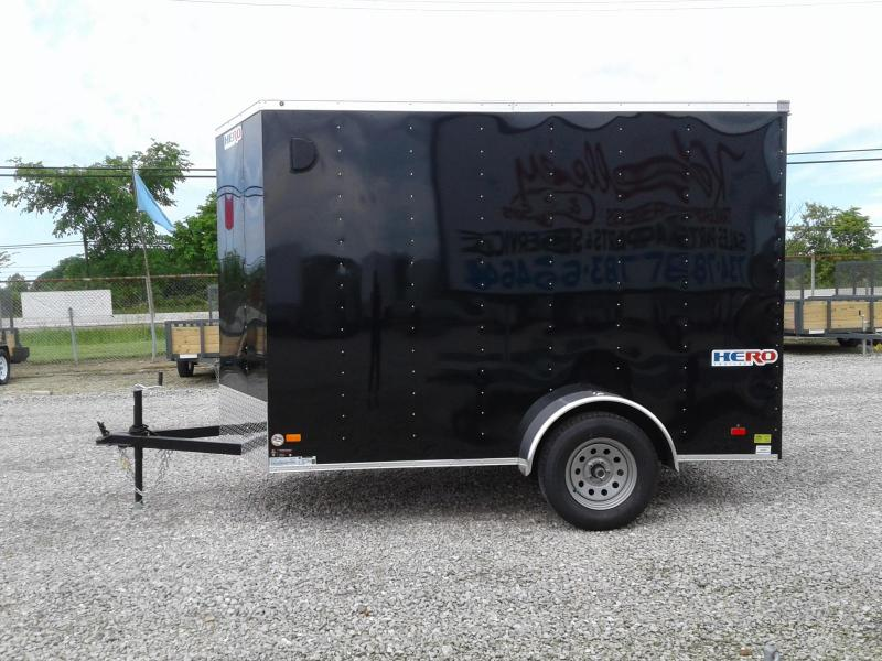 2019 Bravo Trailers 6x10 Hero w/ Ramp Enclosed Trailer