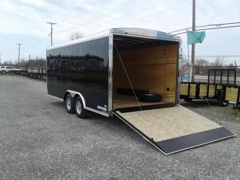 2019 Sure-Trac 8.5x18 10K Round Top Landscape Pro Enclosed Cargo Trailer