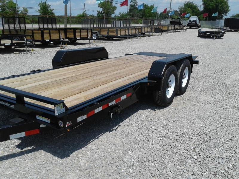 2018 Sure-Trac 7x18 14K Tilt Bed Equipment Trailer