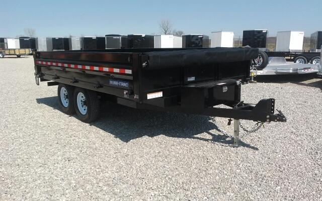 "2018 Sure-Trac 96"" X 14' 14K Fold-Down Sides Dump Trailer"