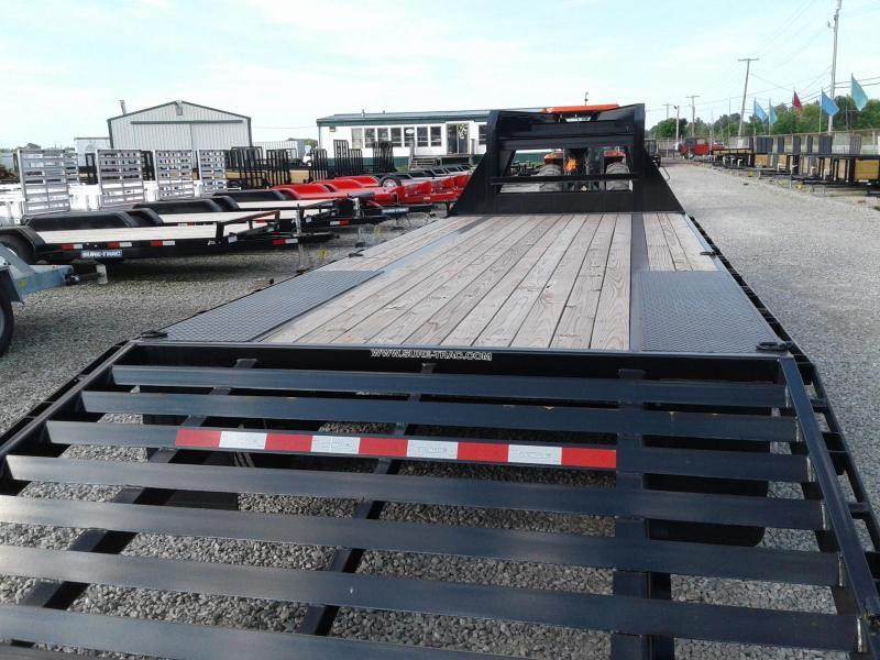 2018 Sure-Trac 8.5x20+5 Deckover Gooseneck Equipment Trailer 17.6K