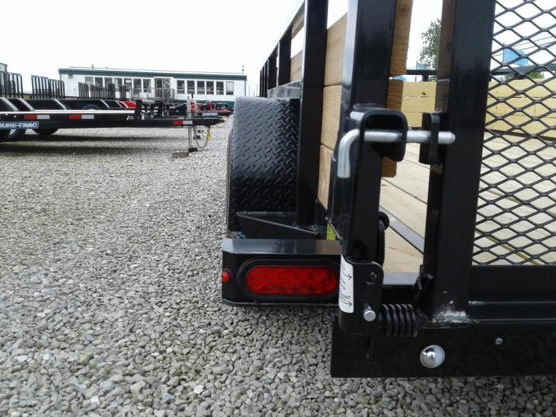 2019 Sure-Trac 7x14 Tandem Axle 7K 3-Board Utility Trailer