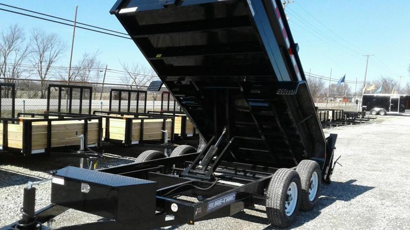 "2019 Sure-Trac 72""x12 10K Scissor Dump Trailer"