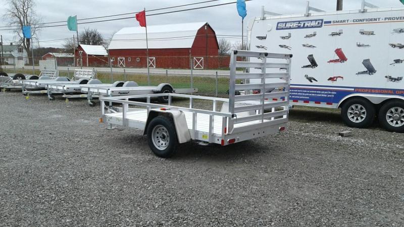 2019 Aluminum Trailer Company 6x10 Open Utility Trailer