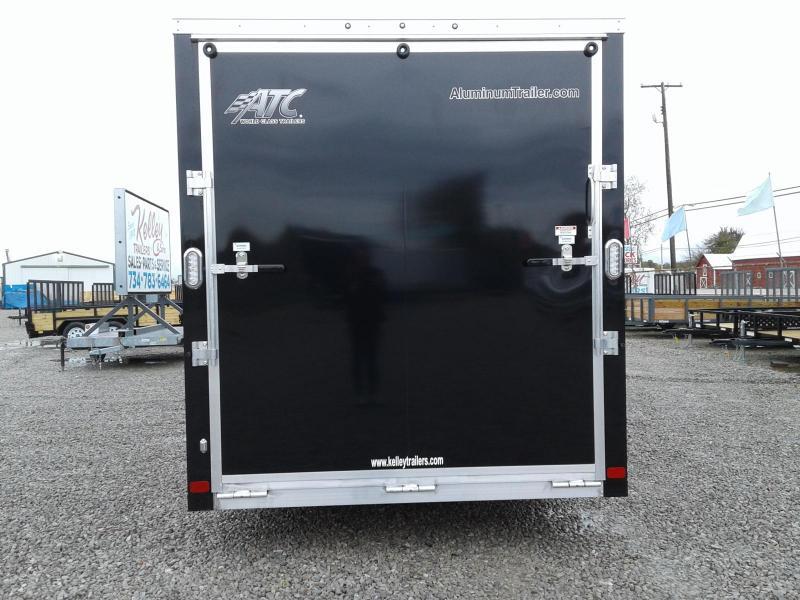 2019 Aluminum Trailer Company 7x22+6 4-Place Snowmobile Trailer