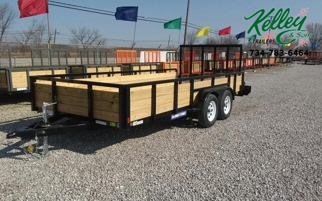 2020 Sure-Trac 7x16 7K 3-Board Utility Trailer