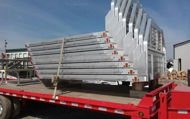 2019 Aluma 81106 Single Wheel Long Bed Aluminum Truck Bed