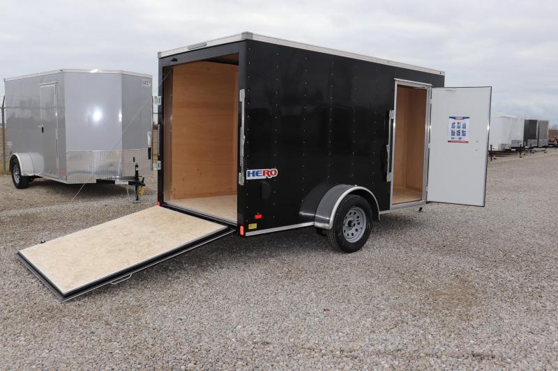 2019 Bravo Trailers 6x12 Hero w/ Ramp Door Enclosed Cargo Trailer