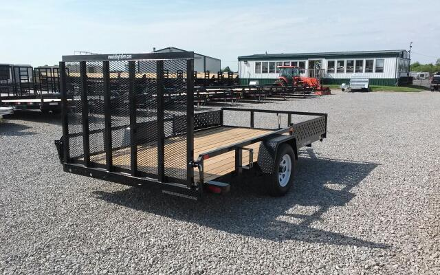 2018 Sure-Trac 7 x 12 2 Place ATV Utility Trailer