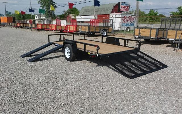2018 Sure-Trac 7x12 2-Place ATV Utility Trailer