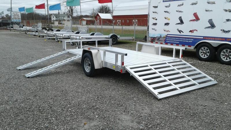2019 Aluminum Trailer Company 7x12 Open Utility Trailer w/ Sides