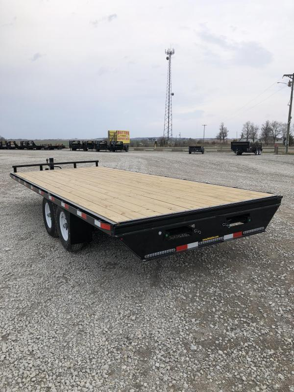 """New H&H 102""""x20' Deck Over 14000#"""