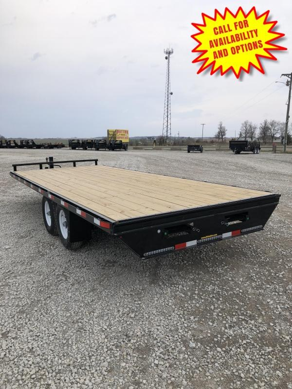 """New H&H 102""""x24 Deck Over 14000#"""