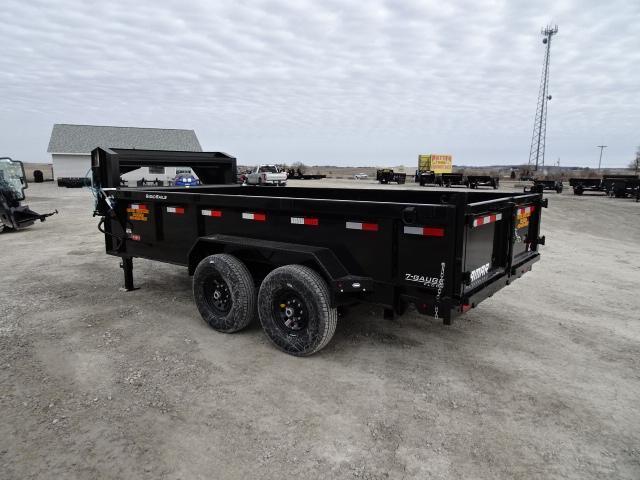 "New Lamar 83""x14 Gooseneck Dump 14000#"