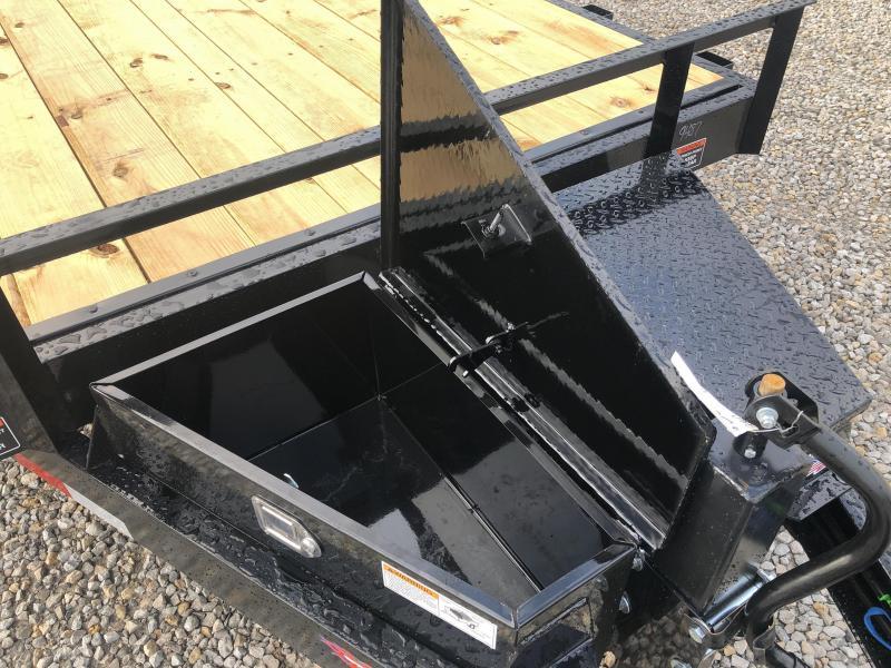 New H & H 22' Power Tilt W / Tool Box 14000#
