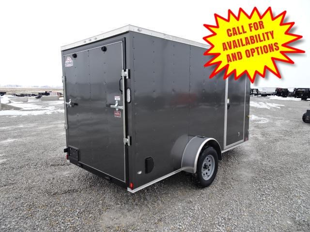 """New Rock Solid 6'x12' W/ Ramp & 6' 3"""" Interior Height"""
