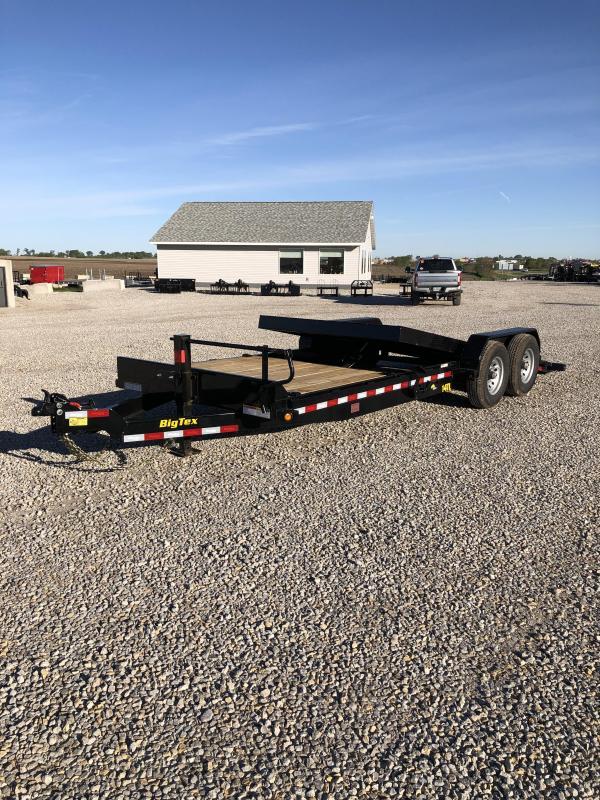 """New Big Tex 83""""x20' Gravity Tilt 14000#"""