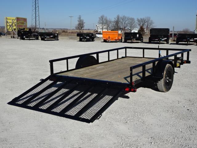 """New Big Tex 77""""x12' W / 4' Spring Assist Gate"""