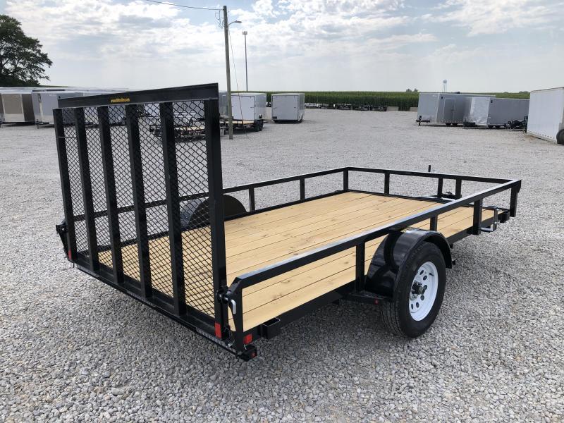 """New H&H 82""""x12' W / Spring Assist Forward Folding Gate"""