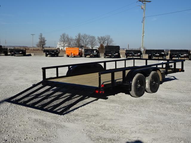 """New Big Tex 83""""x18' W / 4' Spring Assist Gate 7000#"""