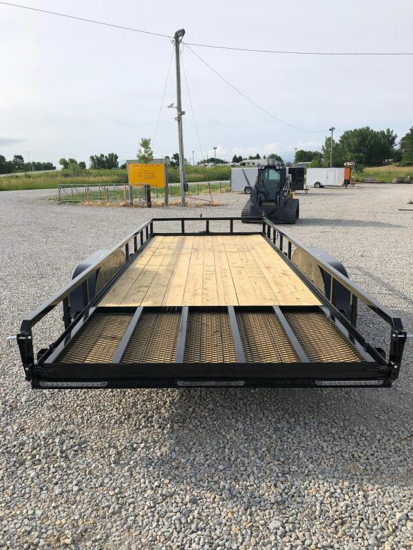 """New H&H 82""""x20' W / Forward Folding Gate 7000#"""