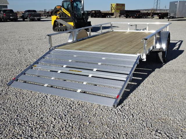 """New H&H Aluminum 82""""x14' W/ Bi-Fold Gate"""