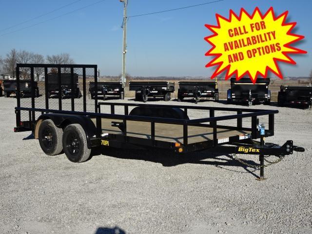 """New Big Tex 83""""x16' W / 4' Spring Assist Gate 7000#"""