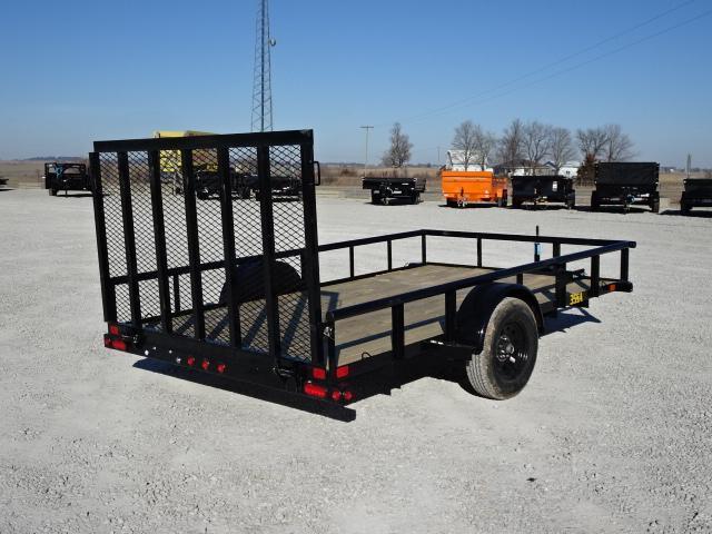 """New Big Tex 83""""x14' W / 4' Spring Assist Gate"""