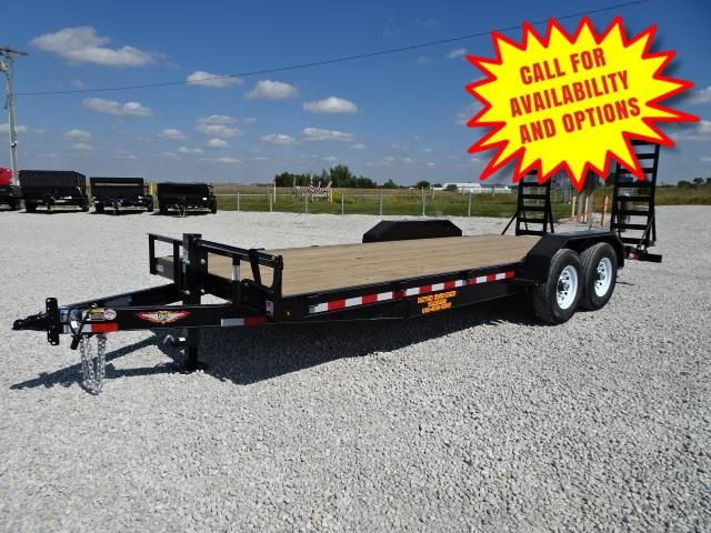 New H&H 22' Skid Loader Trailer 14000#