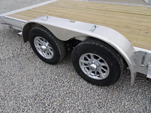New H&H 20' Aluminum Car Hauler 7000#