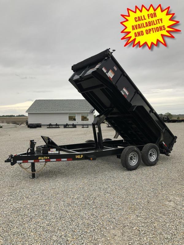 New Big Tex 14' Low Pro Dump Trailer 14000#