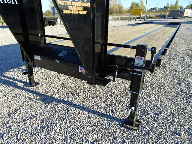 New H&H 30' Low Profile Gooseneck Hydraulic Dovetail 22500#