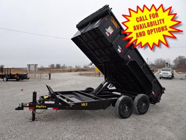 New Big Tex 16' Dump 14000#